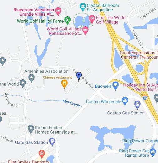 Publix at World Golf Village – Map World Golf Village