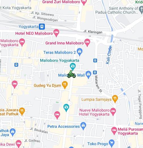 Malioboro - Google My Maps