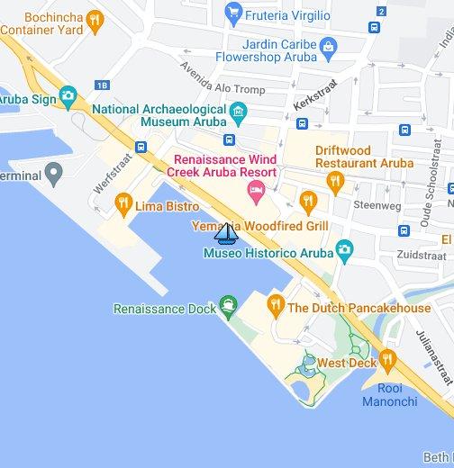 Renaissance Marina Aruba - Google My Maps