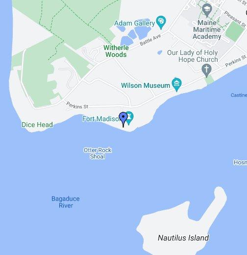 Fort Madison Castine Maine Google My Maps