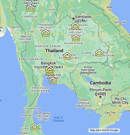 Thailand Passport Offices - Google My Maps