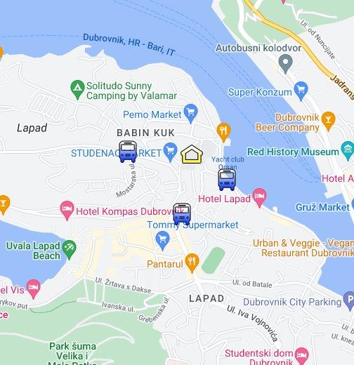 University of Dubrovnik - Google My Maps on