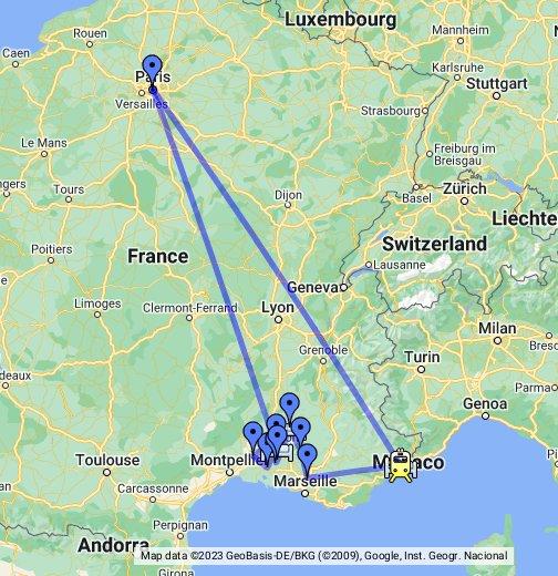 Map Of France Google Maps.France Google My Maps