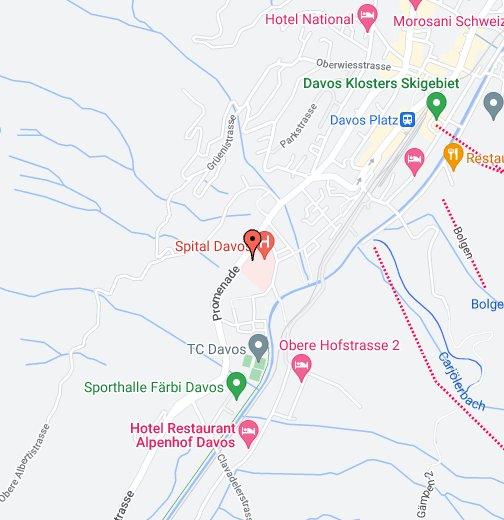 Allgemeinpsychiatrische Tagesklinik Davos – Google My Maps