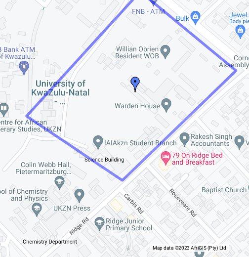 PIETERMARITZBURG   Google My Maps