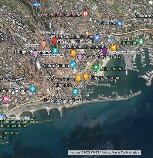 italija mapa google San Remo   Google My Maps italija mapa google