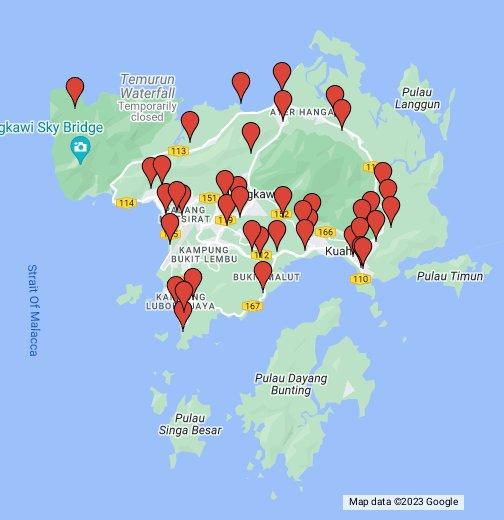 Langkawi Map - Google My Maps