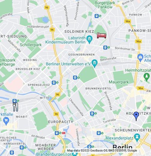 Berlin Germany Google My Maps