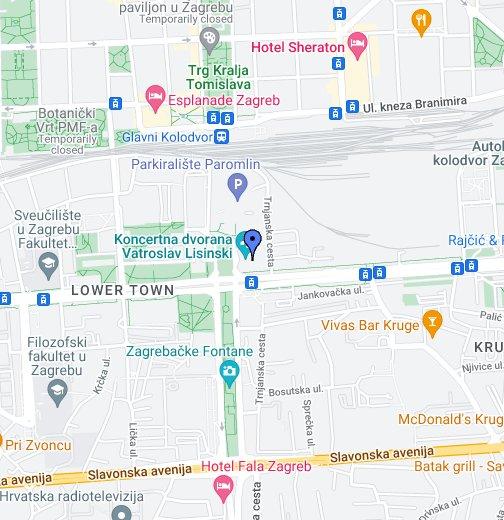 Lisinski Google Moje Karte