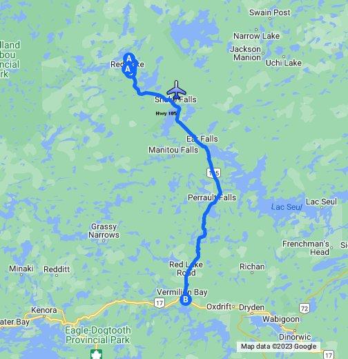 Red Lake Ontario - Google My Maps Map Of Lake Ontario on