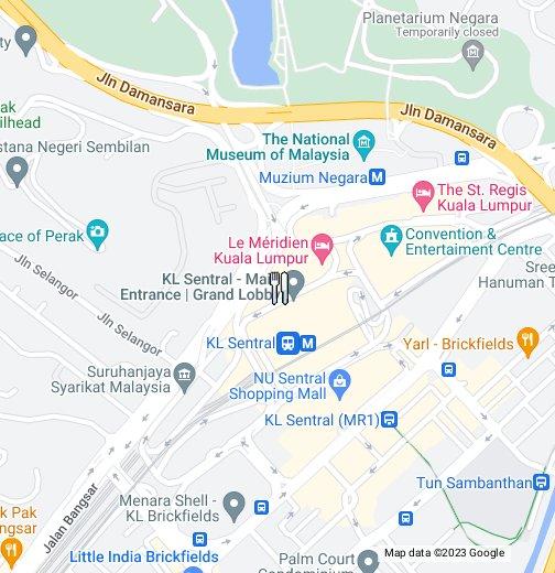 Kuala Lumpur Map Hilton Kuala Lumpur   Google My Maps