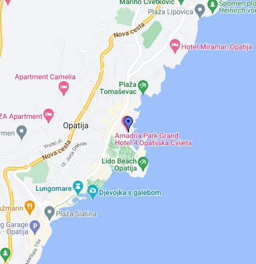 Opatija Google My Maps