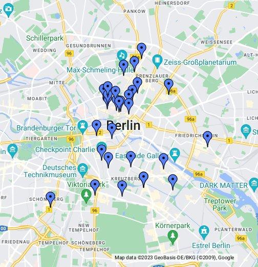 Berlijn: om soms in het westen en soms in het oosten te zijn