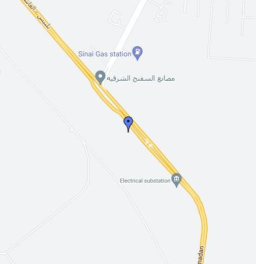 مدينة العاشر من رمضان Google My Maps