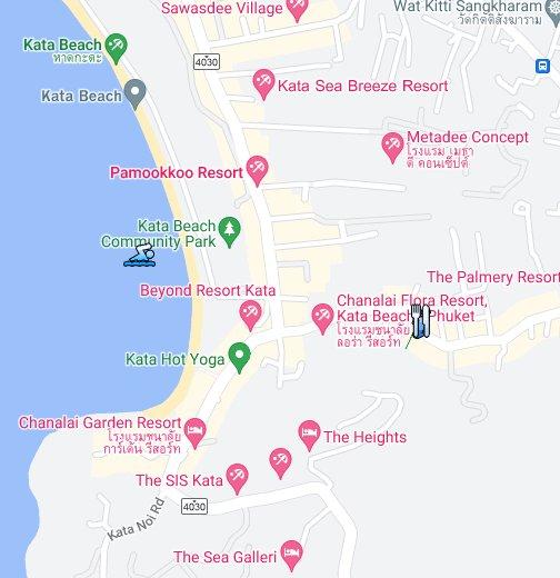 Muang Phuket Map .phuketbesttours.100/1 Koktanode Road, Kata Beach, A. Muang