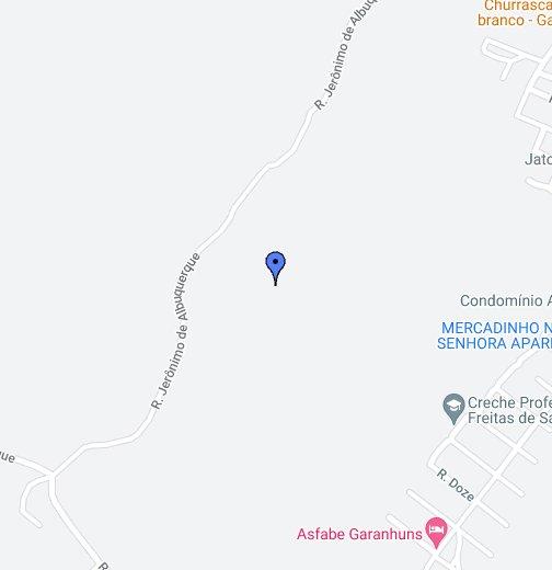 Garanhuns PE - Garanhuns map