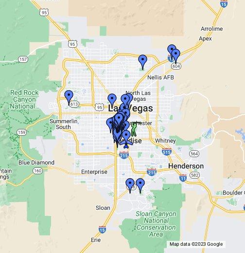 Worksheet. Map of Las Vegas Strip