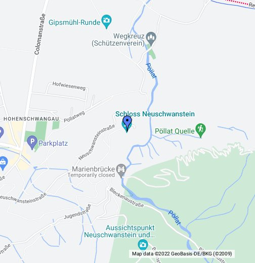Schloss Neuschwanstein Google My Maps