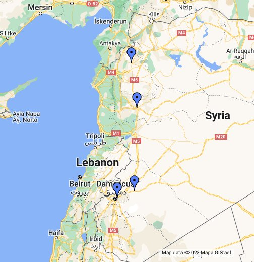 Syria   Google My Maps