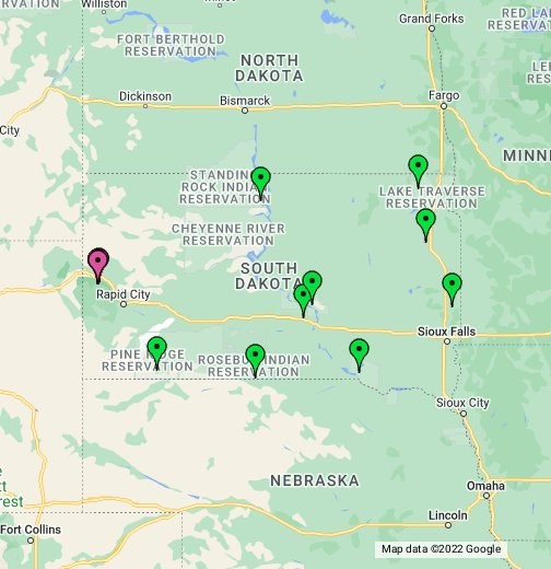 South Dakota Casino Guide - Google My Maps