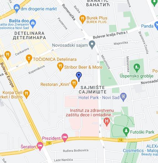 ulica 27 marta beograd mapa Novosadski sajam   Google My Maps ulica 27 marta beograd mapa