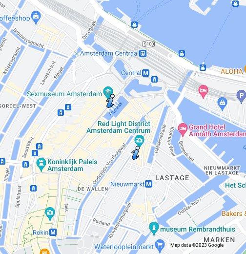 Karte von Amsterdam (DE) – Google My Maps