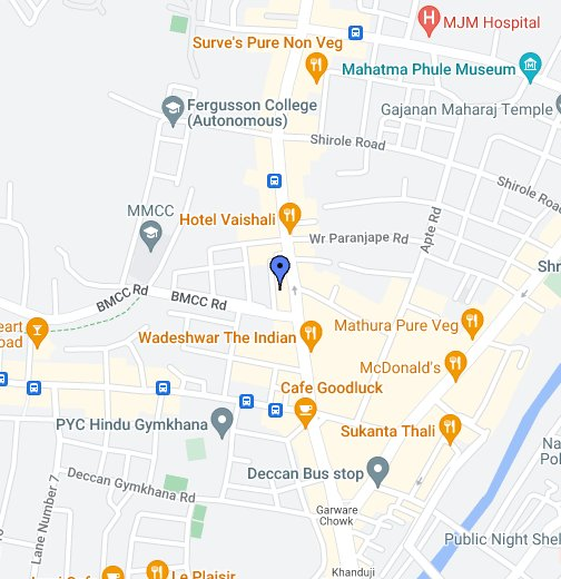 Maps Of Pune Edwise International   Pune FC Road   Google My Maps
