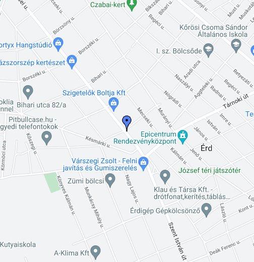 google térkép érd 2030 Érd Aradi u 35/a – Google Saját térképek google térkép érd