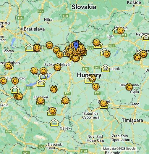 szekszárd térkép műholdas Waldorf intézmények és kezdeményezések Magyarországon – Google
