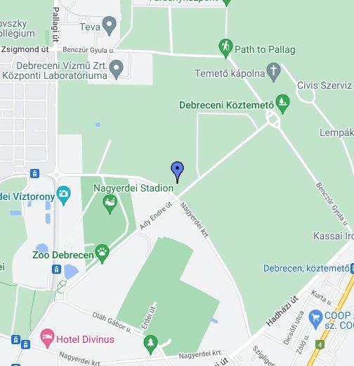 debrecen hu térkép Debreceni Állatkert és Vidámpark – Google Saját térképek debrecen hu térkép