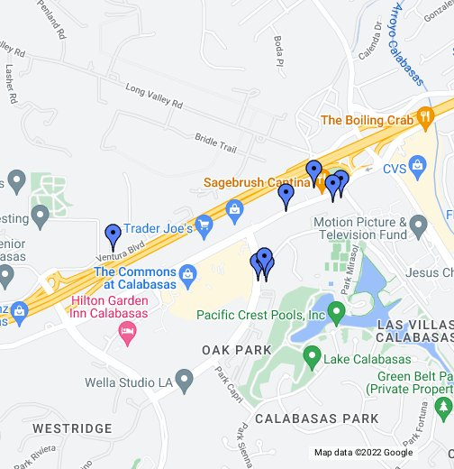Calabasas - Google My Maps on