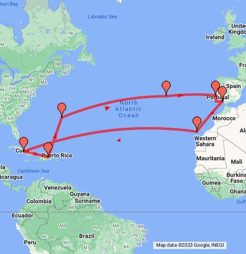Путешествие Христофора Колумба