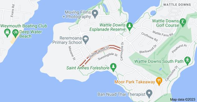 Location of Hadley Wood Drive