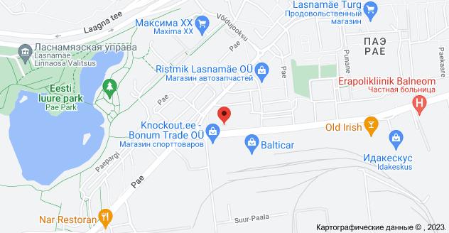 Punane 1, 13620 Tallinn: карта
