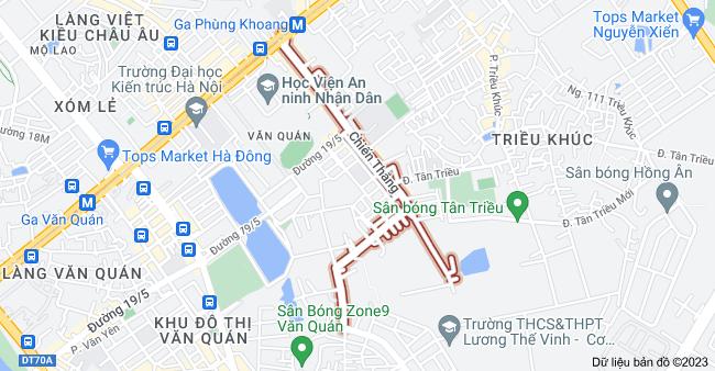 Bản đồ của Chiến Thắng, Hà Đông, Hà Nội
