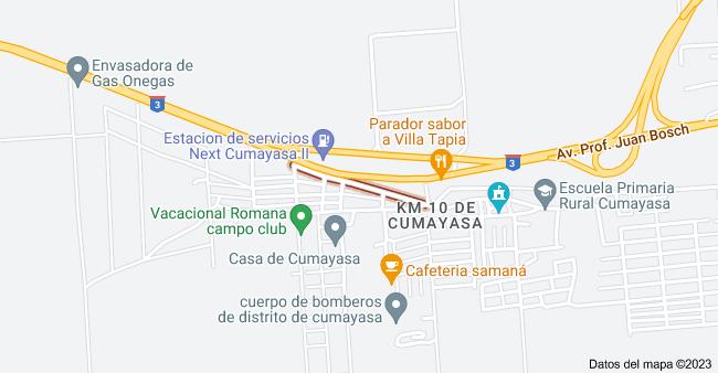 Mapa de Cumayasa, 22000