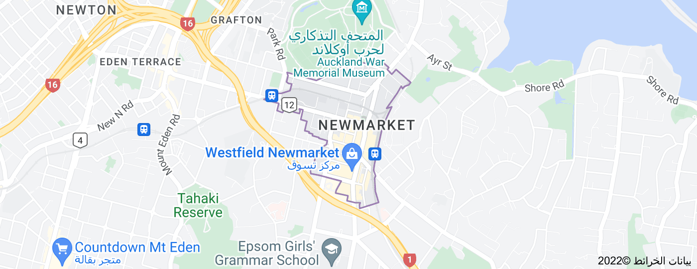 Location of Newmarket