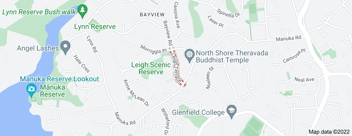 Location of Leigh Terrace