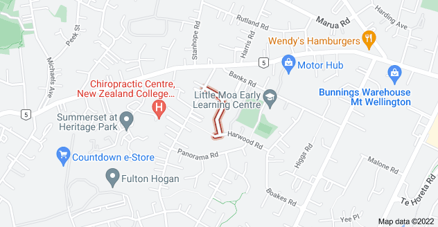 Location of Motu Place
