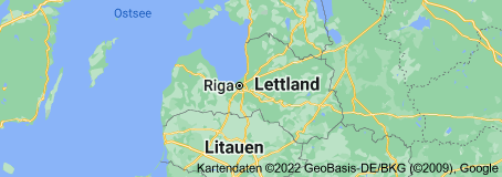Location of Lettland