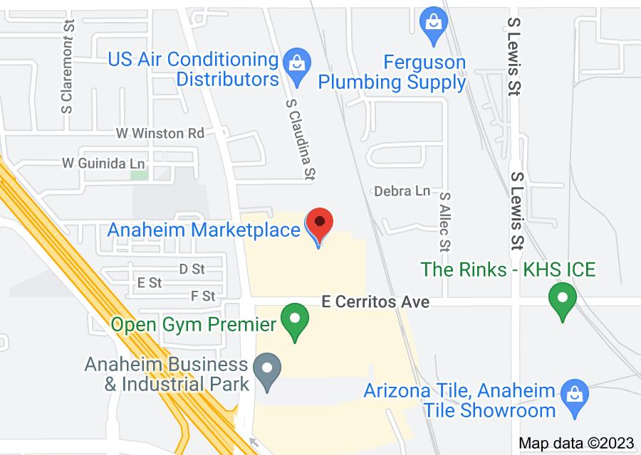 Location of Jazmin Cosmetics