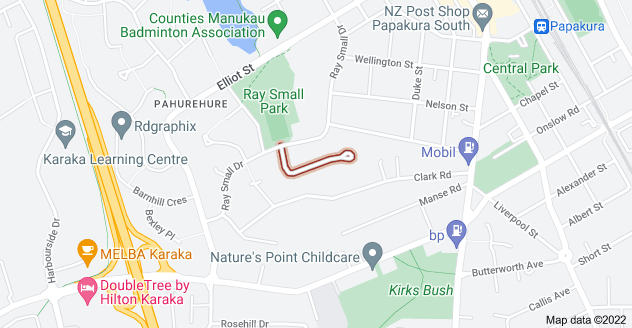 Location of Ashdown Place