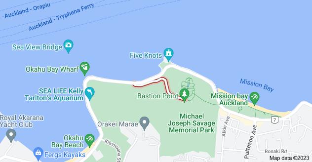 Location of Hapimana Street