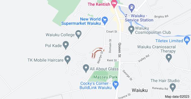 Location of Magnolia Drive