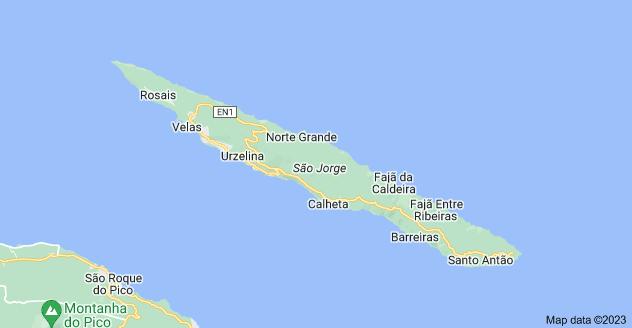 Map of São Jorge