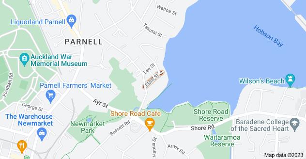 Location of Elam Street