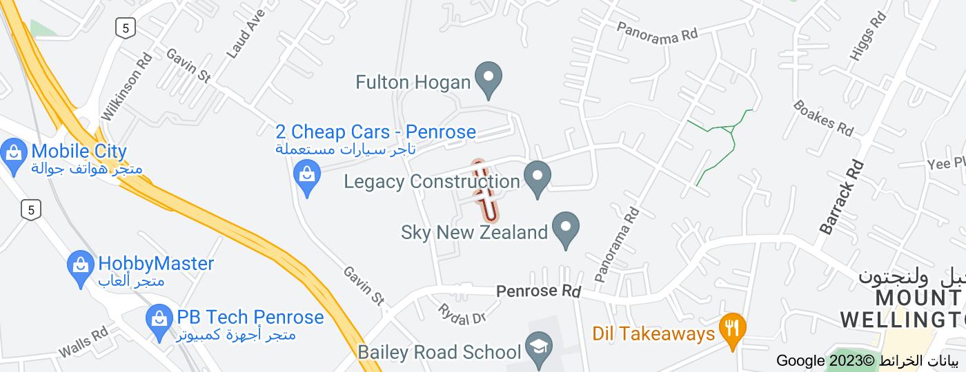 Location of Monier Place