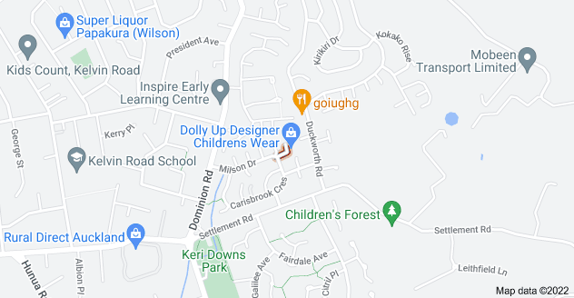 Location of Loris Place