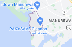 Location of Clendon Park