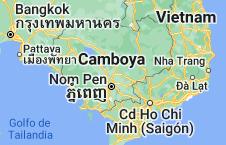Location of Camboya